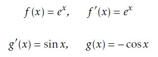 Determining the terms in tricky integral by parts