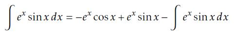 Algebraic expression of tricky integral