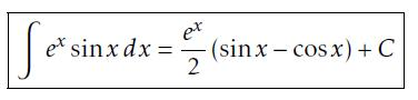 Answer to tricky integral by parts