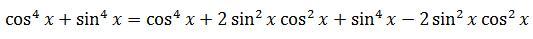 Performing an algebraic manipulation