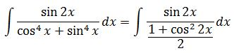 Replacing the new expression of the denominator into the integral