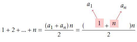 Answer to arithmetic progression